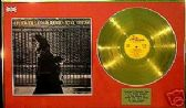 NEIL YOUNG  - LP Gold disc & cover presentation
